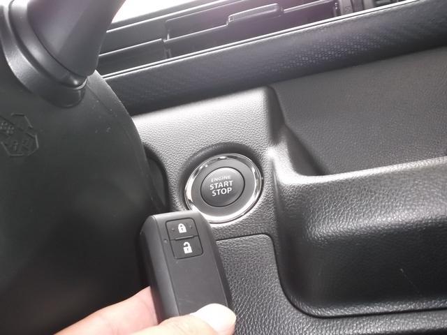 エンジンスタートとストップ・ドア開閉はボタンをワンプッシュ!簡単に操作できますよ。