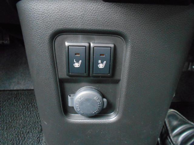 助手席側シートヒーター付き 運転席側シートヒーター付き。