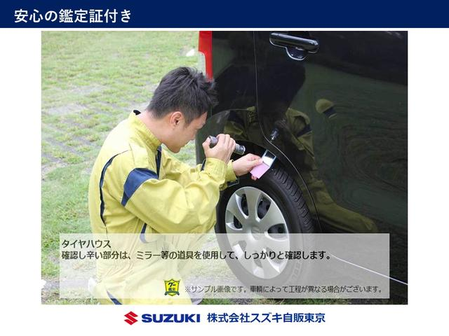 タイヤハウスのチェック!見づらい部分はライトも使用しております。