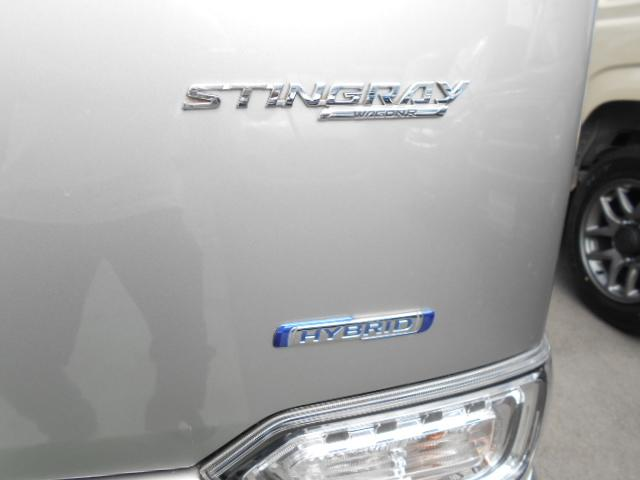 スティングレー HYBRID T 4WD 全方位カメラ(35枚目)