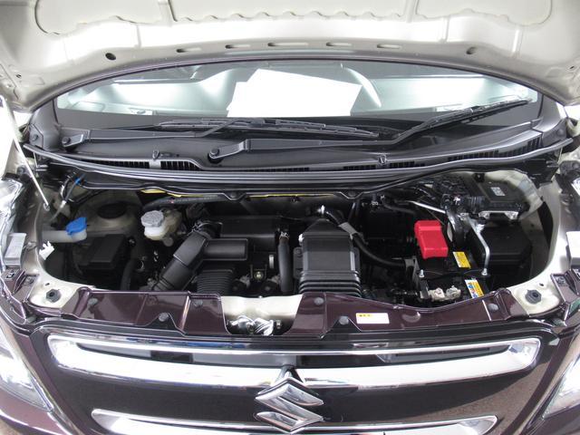 ハイブリッドT スティングレー HYBRID T 2型 キーレスエントリー アルミホイール 衝突防止システム ターボ ABS エアバッグ エアコン パワーステアリング パワーウィンドウ(48枚目)