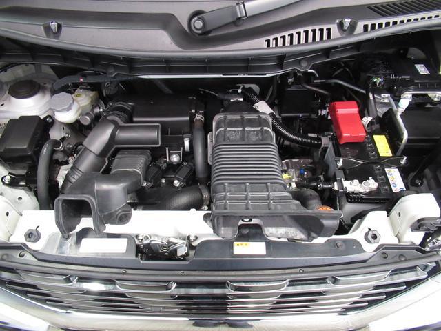 カスタム HYBRID XSターボ 2型 キーレスエントリー アルミホイール 衝突防止システム ターボ ABS エアバッグ エアコン パワーステアリング パワーウィンドウ(53枚目)