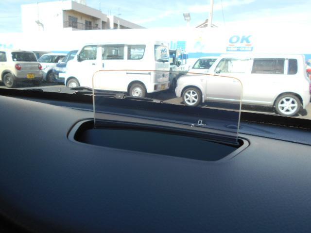 軽自動車初のヘッドアップディスプレイ搭載