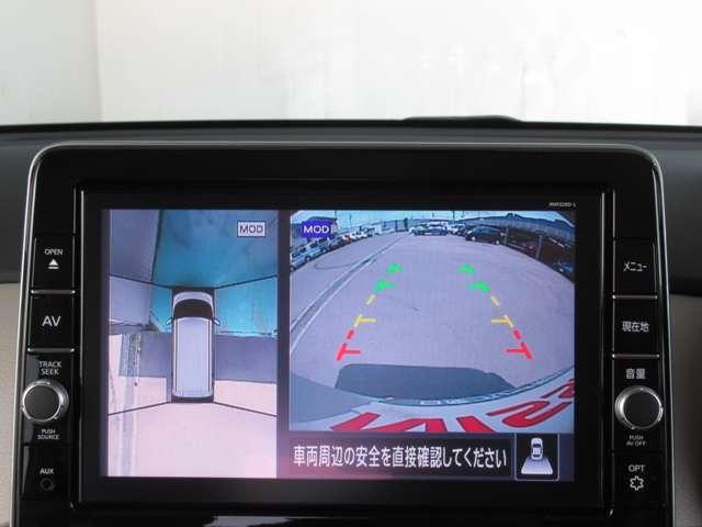 X メモリーナビ アラウンドビューモニター 前後ドライブレコーダー ETC2.0 踏み間違い防止装置(5枚目)