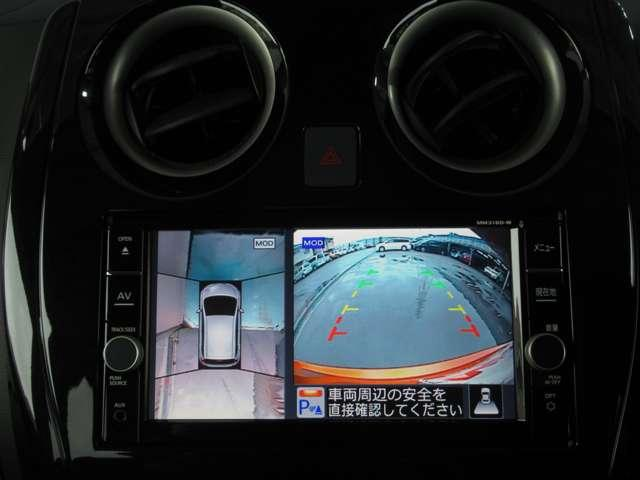 e-パワー X メモリーナビ アラウンドビューモニター スマートルームミラー ドライブレコーダー ETC2.0 踏み間違い防止装置(6枚目)