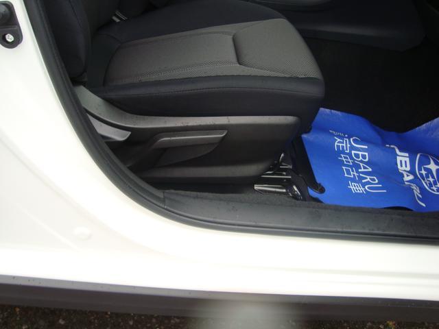 ドライビングポジションは安全運転の基本。ドライバーズシートにはシートリフター機能がありますので理想のシートポジションにセット可能。