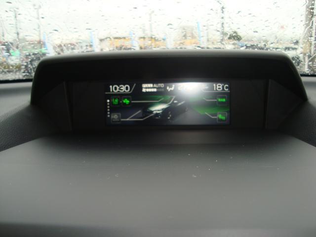 車両状態を表示できるマルチファンクションディスプレイです。