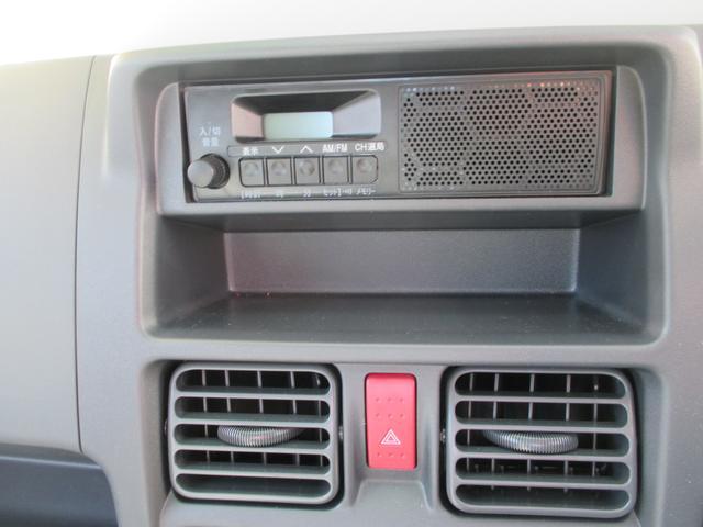 AM・FMスピーカー付ラジオが標準です