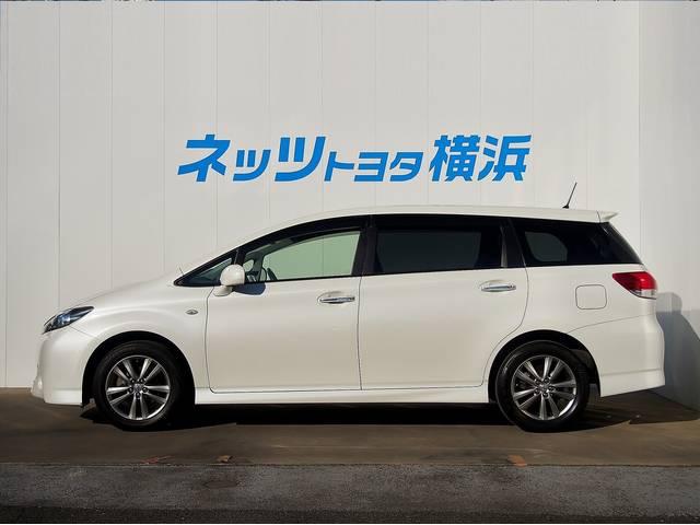 トヨタ ウィッシュ 1.8Sモノトーン 純正ナビ 地デジ ワンオーナー