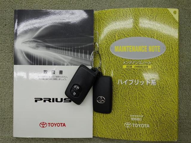 トヨタ プリウス S ワンオーナー CDチューナー 純正AW