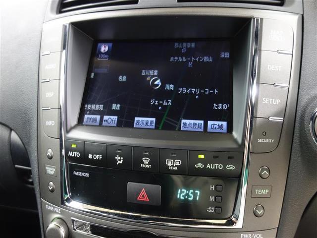 レクサス IS IS350 バージョンF 本革シート HDDナビ