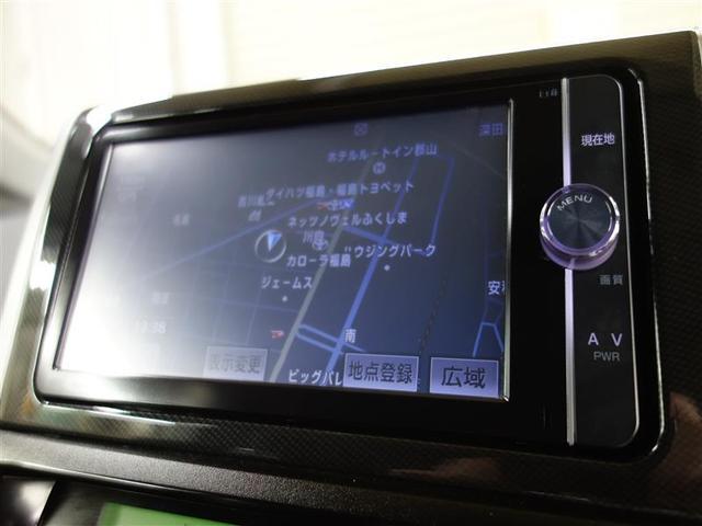 トヨタ ウィッシュ 1.8S 純正メモリーナビ 地デジ バックモニター