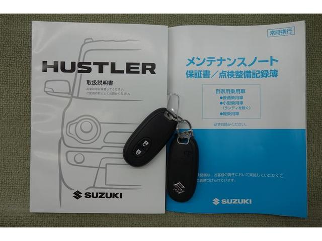 スズキ ハスラー G スマートキー シートヒーター ブレーキサポート