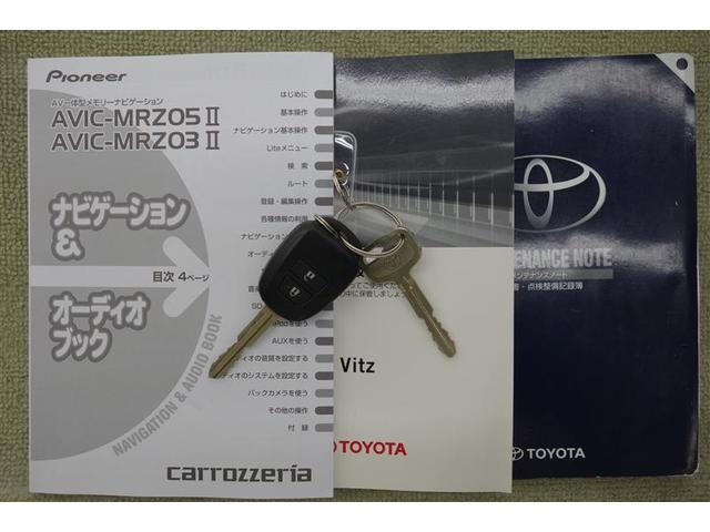 トヨタ ヴィッツ F バックモニター メモリーナビ ワンセグ ETC CD