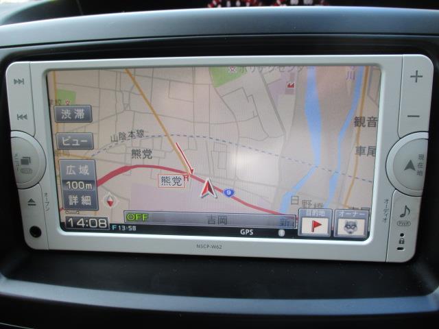 ZS 煌Z 4WD ワンセグ メモリーナビ バックカメラ ETC 両側電動スライド HIDヘッドライト ウオークスルー 乗車定員8人 3列シート 記録簿(7枚目)