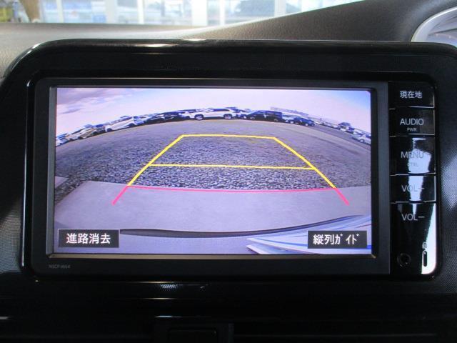 バックモニター付き・車庫入れバック時モニターで後ろの確認できます。
