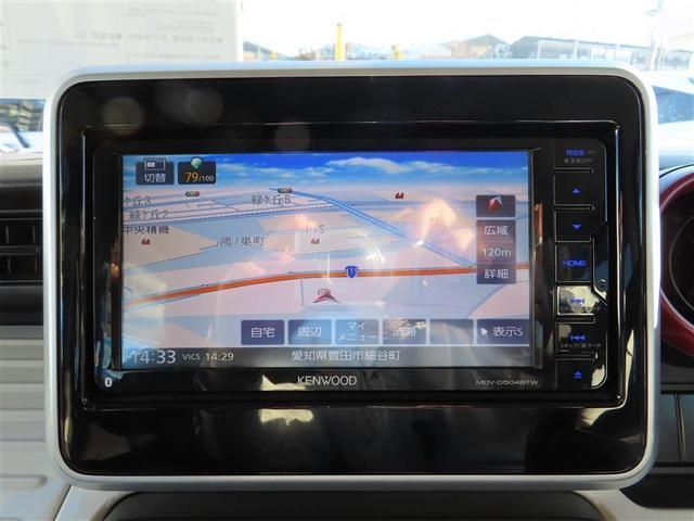 ハイブリッドX HDDナビ バックモニター フルセグ 両側パワースライドドア スマートキー(4枚目)