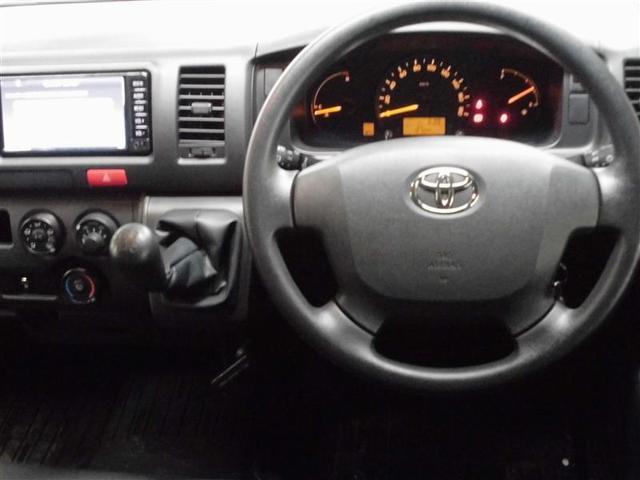 トヨタ レジアスエースバン ロングDX 4WD CDナビ ETC キーレス CD MT