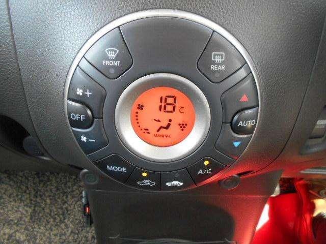 温度調整もラクラクオートエアコン!