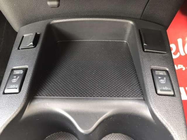 シートヒーター付です☆USB接続端子、音声用外部入力端子付☆
