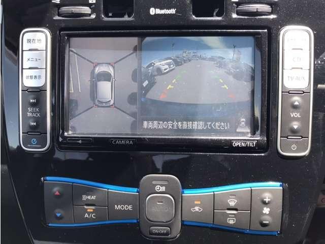 人気装備・アラウンドビューモニター付☆車両を上から見下ろしたような映像が映ります☆