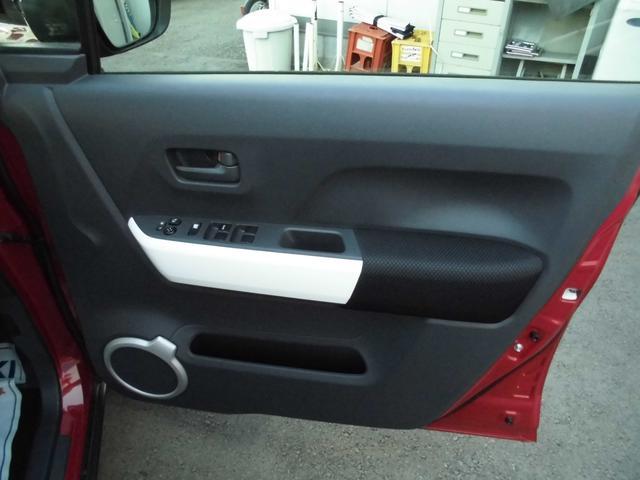 運転席ドアの内側。