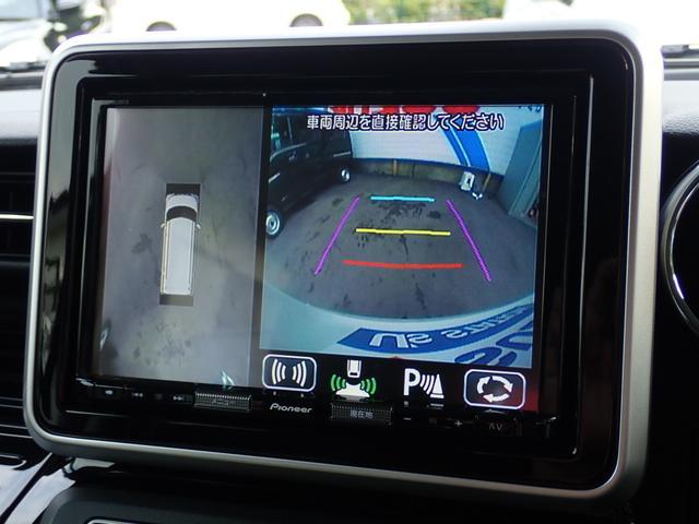 カスタム HYBRID XSターボ 全方位カメラ ナビ デュアルセンサーブレーキ アイドリングストップ フォグランプ クルーズコントロール オートライト リヤパーキングセンサー 両側電動スライドドア(4枚目)
