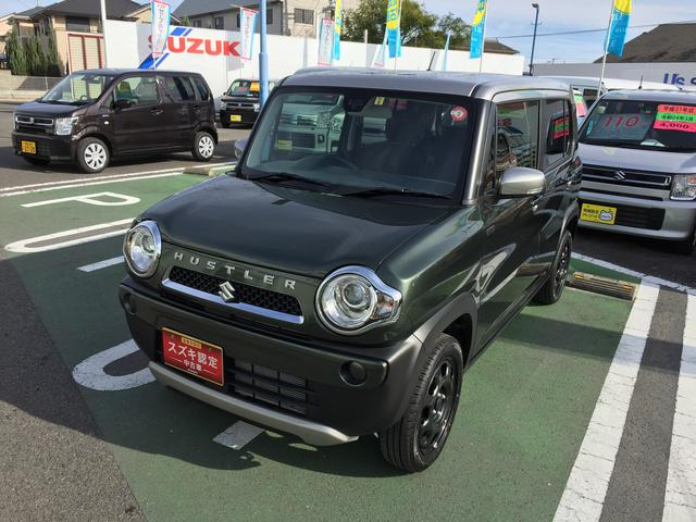 「スズキ」「ハスラー」「コンパクトカー」「徳島県」の中古車3