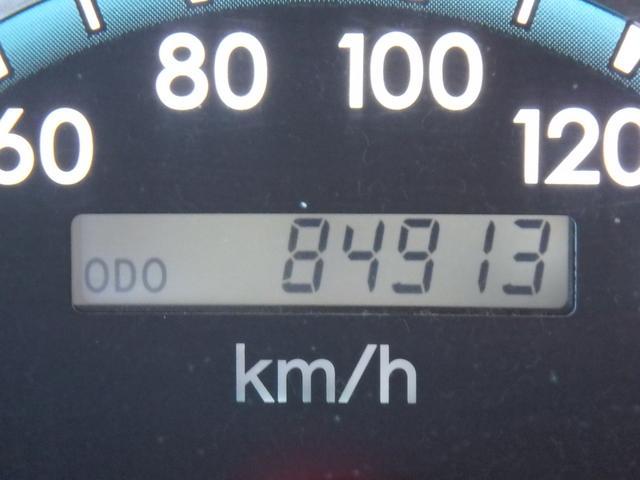 走行距離は第三者機関のメーター管理システムで確認をしていますので安心して下さい。