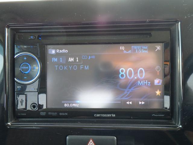 X DVDビデオ/CD再生機能付きデッキ スマートキー プッシュスタート オートエアコン ETC車載器 ダブルエアバッグ ABS 衝突安全ボディ ベンチシート フルフラットシート CVTオートマ(6枚目)