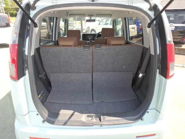 X DVDビデオ/CD再生機能付きデッキ スマートキー プッシュスタート オートエアコン ETC車載器 ダブルエアバッグ ABS 衝突安全ボディ ベンチシート フルフラットシート CVTオートマ(13枚目)
