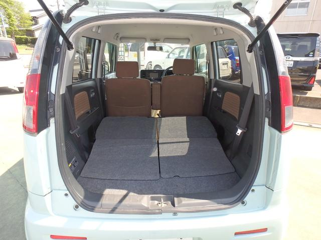 X DVDビデオ/CD再生機能付きデッキ スマートキー プッシュスタート オートエアコン ETC車載器 ダブルエアバッグ ABS 衝突安全ボディ ベンチシート フルフラットシート CVTオートマ(15枚目)