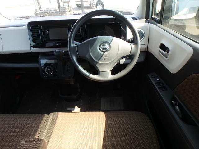 X DVDビデオ/CD再生機能付きデッキ スマートキー プッシュスタート オートエアコン ETC車載器 ダブルエアバッグ ABS 衝突安全ボディ ベンチシート フルフラットシート CVTオートマ(39枚目)
