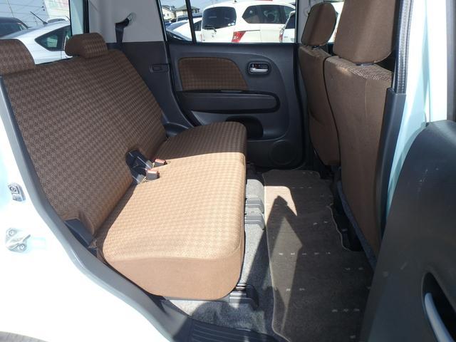 X DVDビデオ/CD再生機能付きデッキ スマートキー プッシュスタート オートエアコン ETC車載器 ダブルエアバッグ ABS 衝突安全ボディ ベンチシート フルフラットシート CVTオートマ(43枚目)