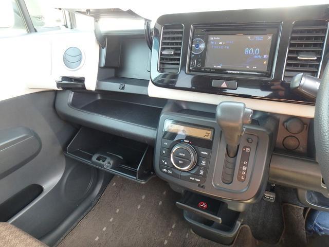 X DVDビデオ/CD再生機能付きデッキ スマートキー プッシュスタート オートエアコン ETC車載器 ダブルエアバッグ ABS 衝突安全ボディ ベンチシート フルフラットシート CVTオートマ(54枚目)