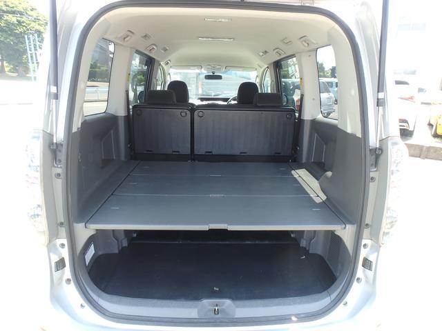 トランス-X タープ/マット付車中泊仕様車 デッキボード 5人乗り4ナンバー登録可 ダブルエアコン 純正HIDヘッドライト ナビ ワンセグテレビ DVDビデオ再生 ETC車載器 Wエアバッグ ABS(14枚目)