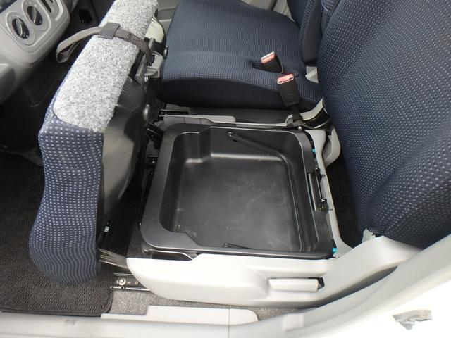 FXリミテッド スマートキー プッシュスタート タイヤ4本新品付き 純正エアロ 14インチアルミホイール ダブルエアバッグ ABS 衝突安全ボディ フロントベンチシート フルフラットシート(11枚目)