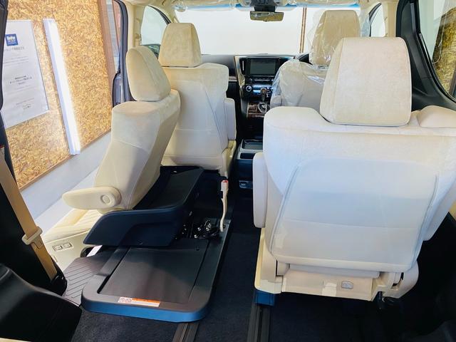 2.5X 福祉車両 サイドリフトアップチルトシート 両側電動スライドドア ツインムーンルーフ スペアタイヤ リヤクロストラフィックオートブレーキ BSM デジタルインナーミラー Bluetooth 未使用(60枚目)