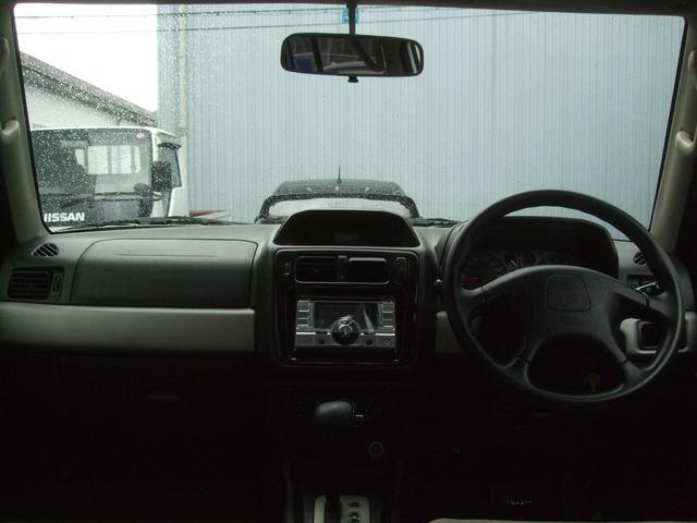 三菱 パジェロイオ アクティブフィールドエディション2.0 4WD AT CD