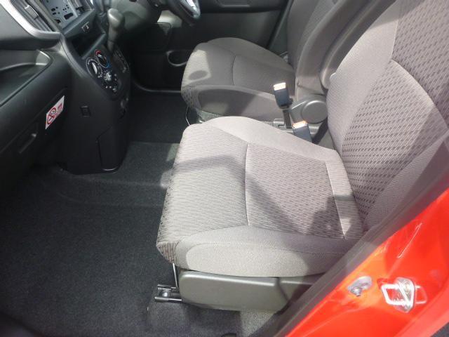 高いホールド性と、ロングドライビング時の快適性を兼ね備えたシート。
