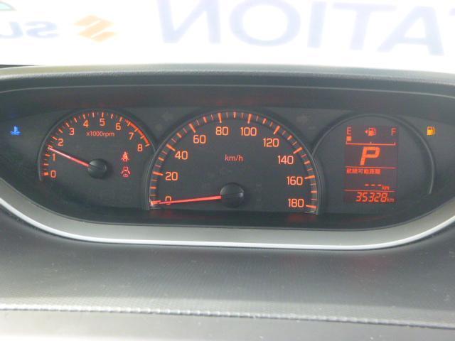センターメーターを採用で、視線が奥にいくのでドライブ中も確認しやすい!