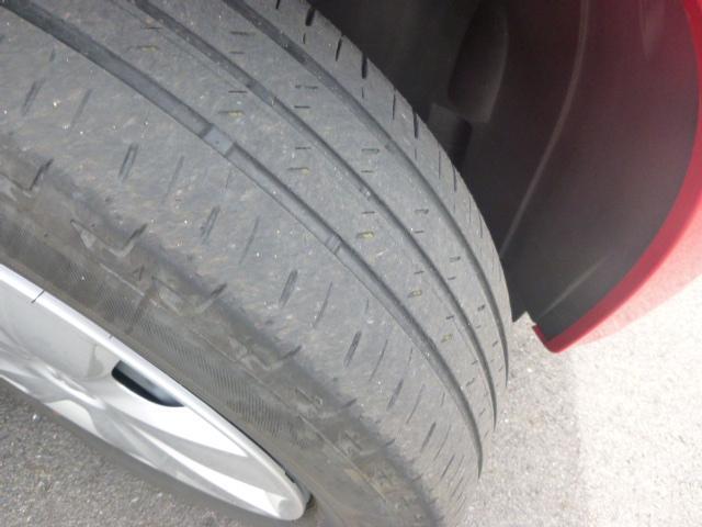 しっかりと乗っていただけるようにタイヤの溝の深さもチェックしております。