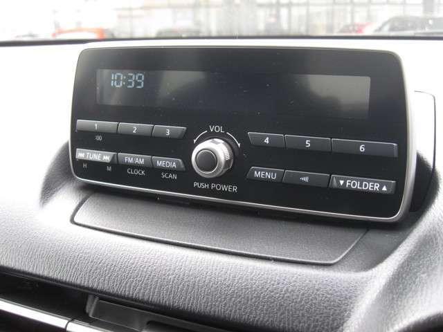 ラジオ・CD・外部入力のシンプルオーディオ