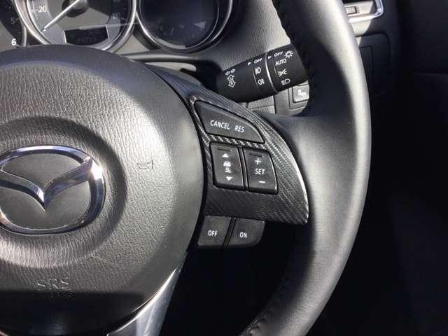 ご覧のようにクルーズコントロールも付いておりロングドライブも快適ですよ♪