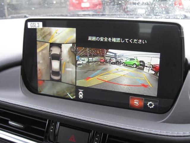 360°モニターのおかげで狭い駐車でもラクラクです♪