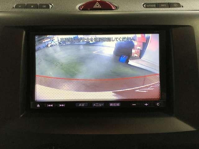 駐車が苦手な方も安心☆バックカメラ付きです!