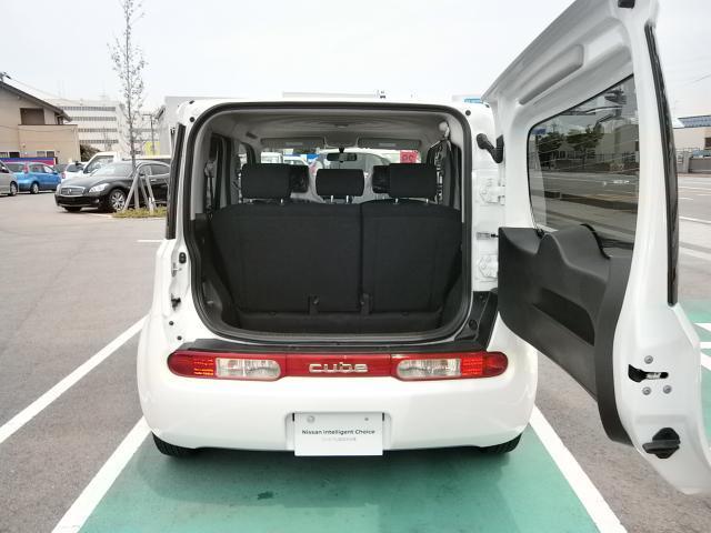 日産 キューブ 15X 当社試乗車 新品ナビ インテリジェントキー