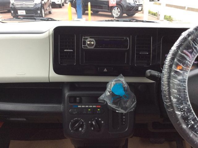日産 モコ S FOUR CDチューナー シートヒーター