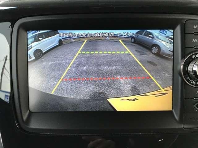 バックカメラ付きで車庫入れに便利です。
