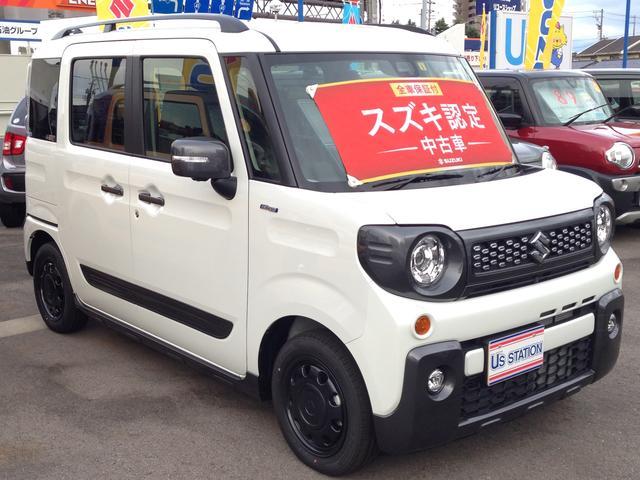 「スズキ」「スペーシアギア」「コンパクトカー」「富山県」の中古車3